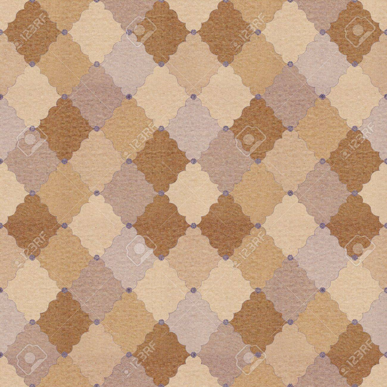 textured paper with vintage pattern Stock Photo - 14508417