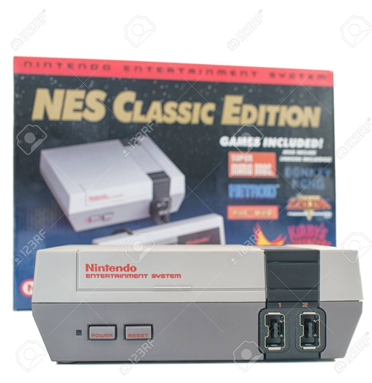 Montreal Quebec Canada January 82017 Nes Nintendo Classic