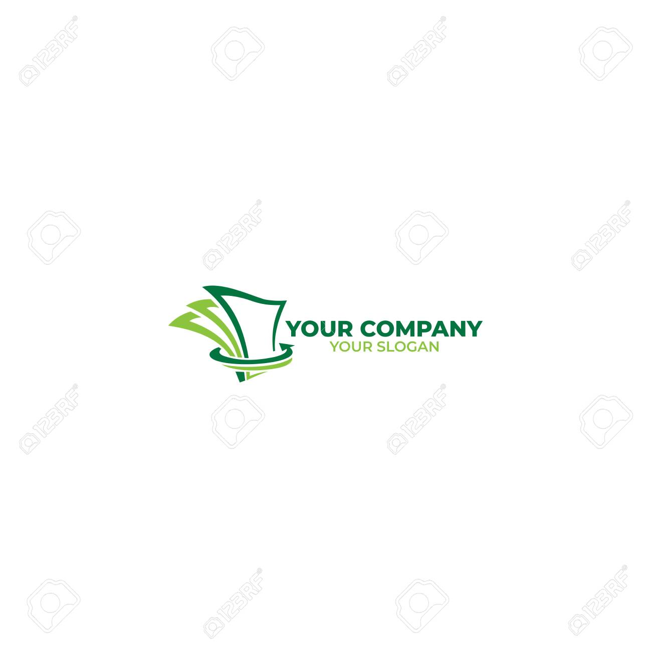 Loan Money Logo Design Vector Royalty Free Cliparts Vectors And Stock Illustration Image 128801653