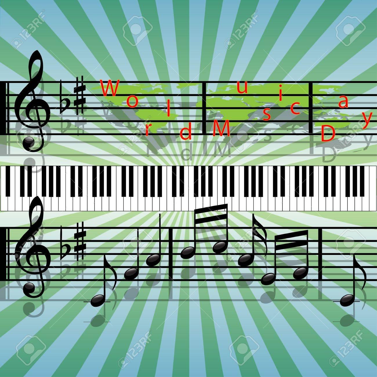 World Music Day Stock Vector - 9790510