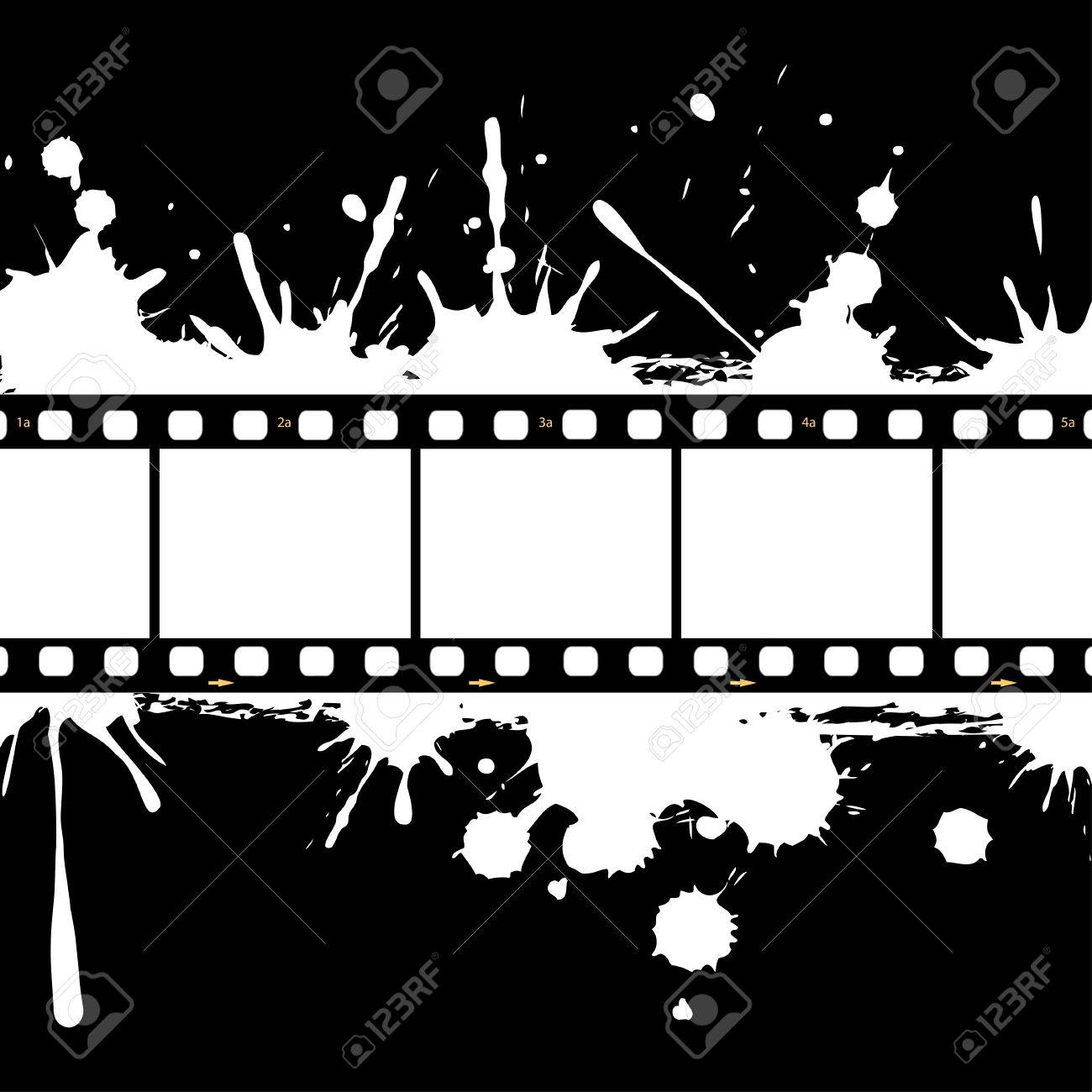 Filmstrip Background Frame Royalty Free Cliparts, Vectors, And Stock ...