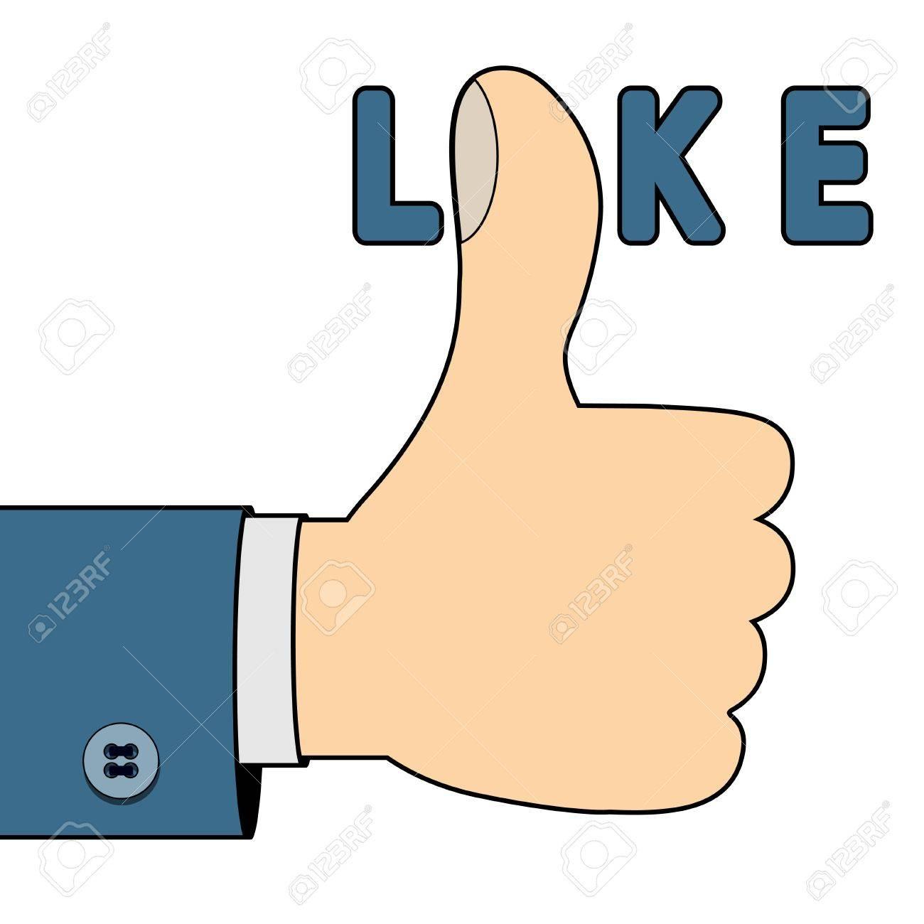 I like you Stock Vector - 18014614