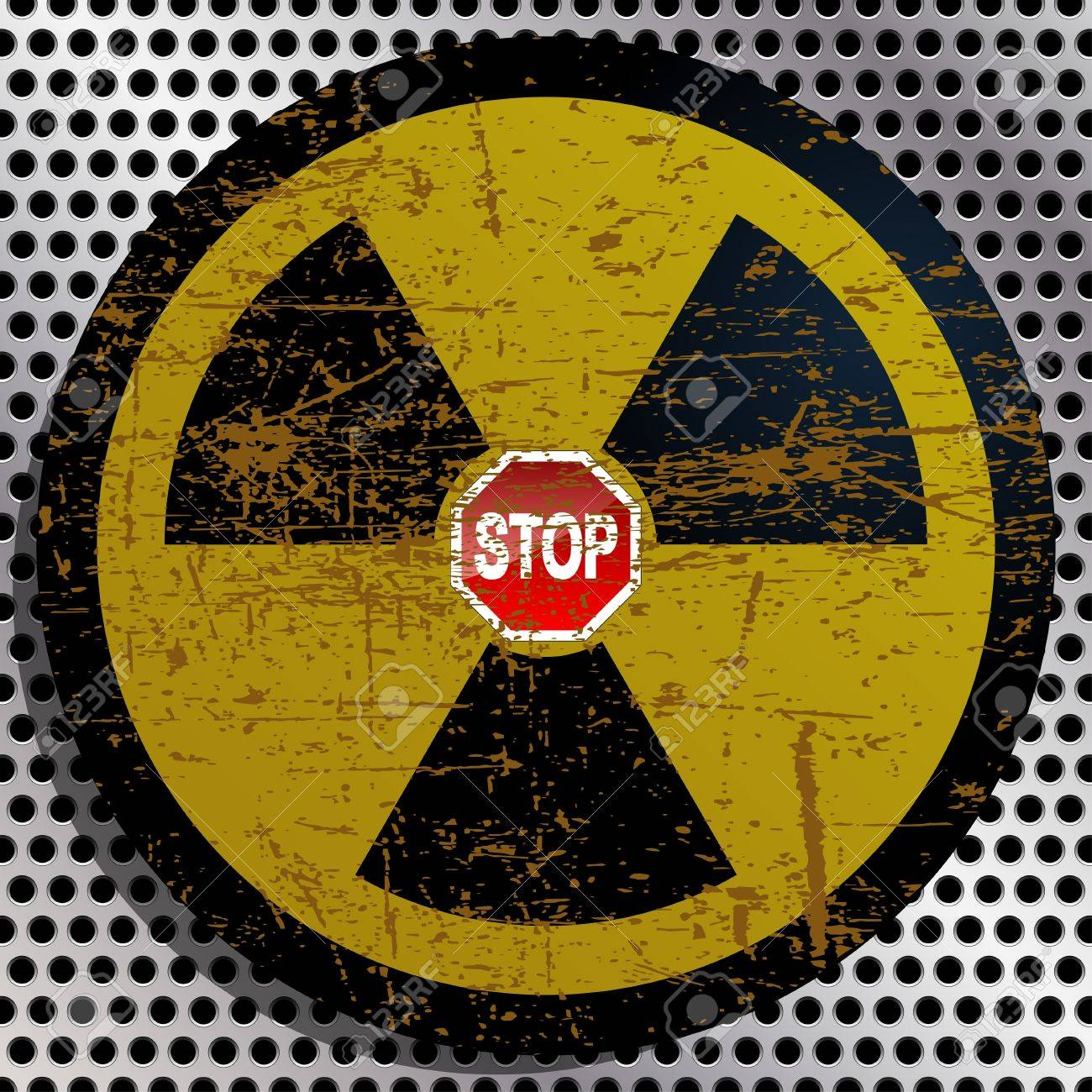 Stop Radiation Stock Vector - 18908574