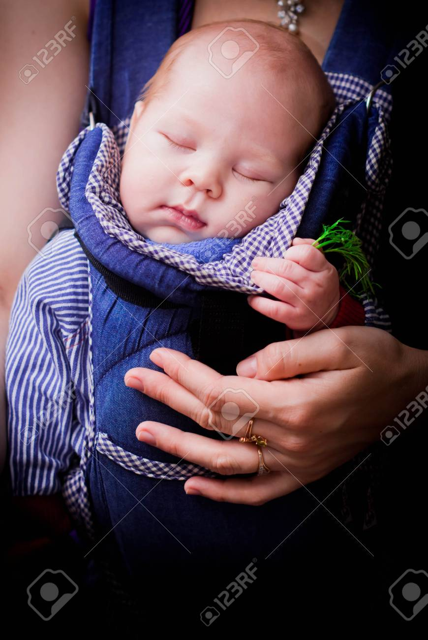 3ea1374767c Child Sleeping On Hands At Mother