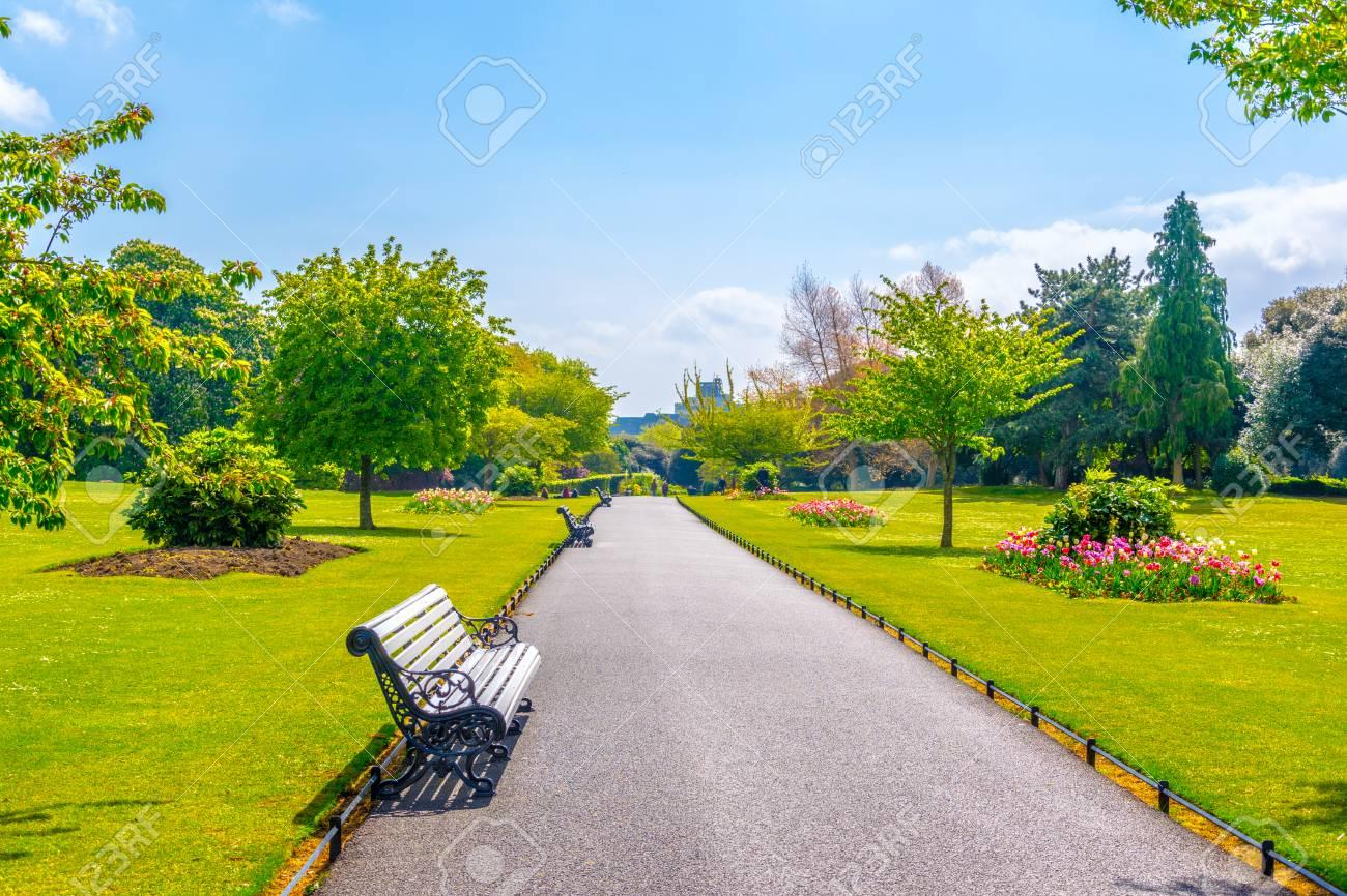 People S Garden In The Phoenix Park In Dublin Ireland Stock Photo