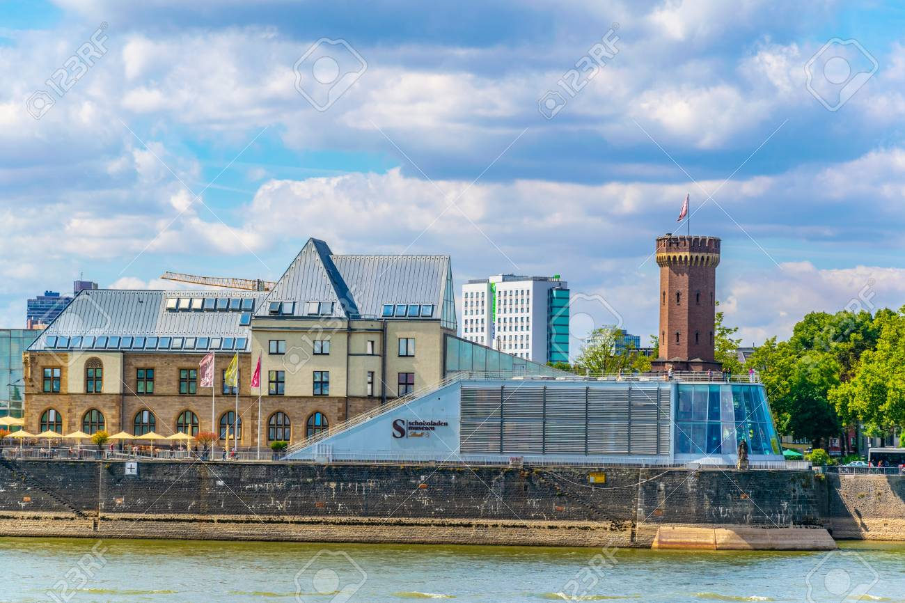 Cologne Germany August 11 2018 Chocolate Museum In Cologne
