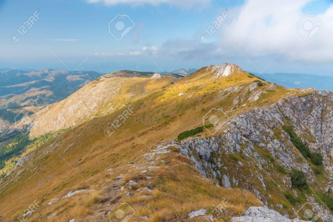 Hajla peak at Rugova mountains in Kosovo - 148348000
