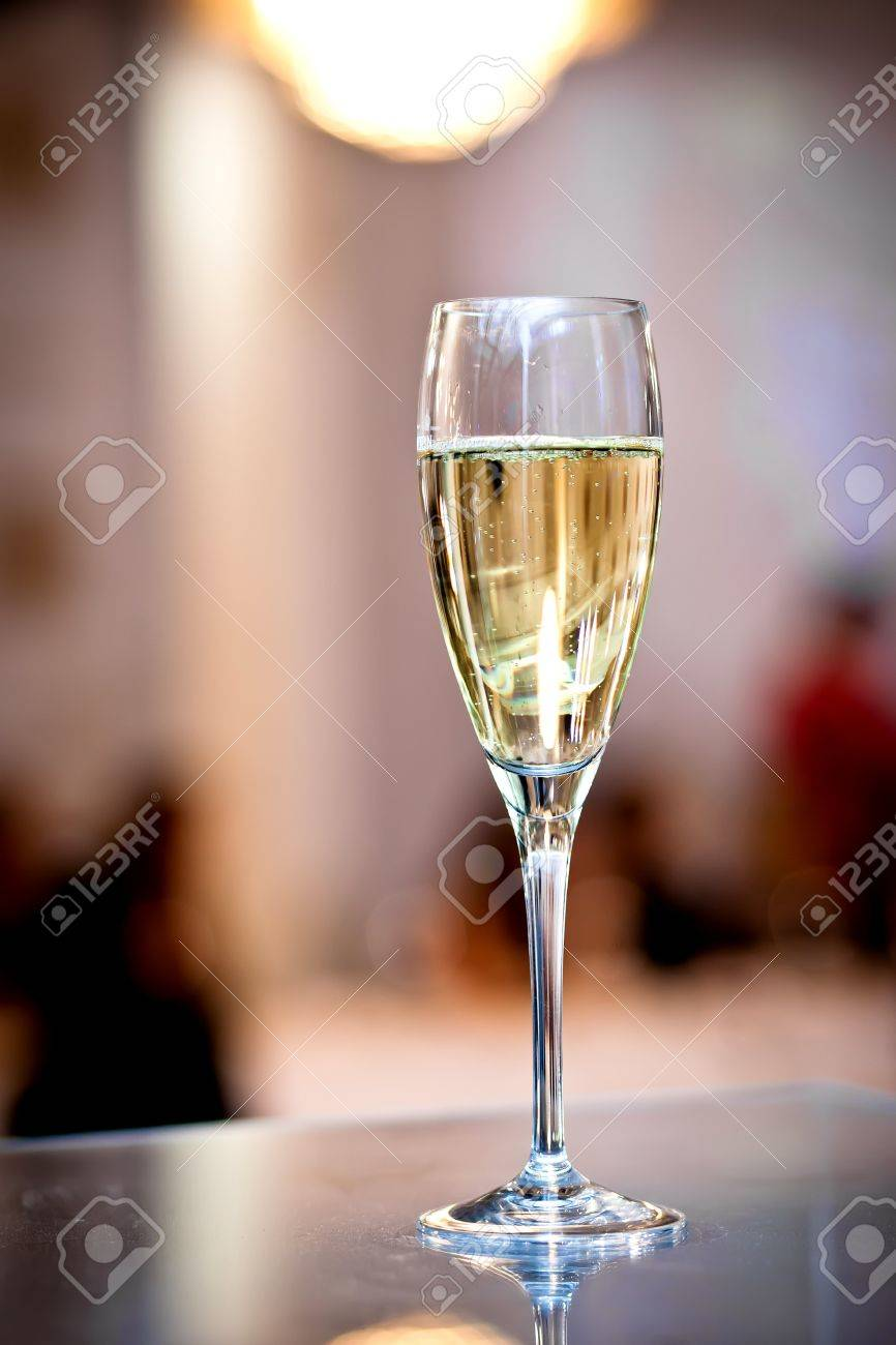 Full glasses of champagne Stock Photo - 13740785