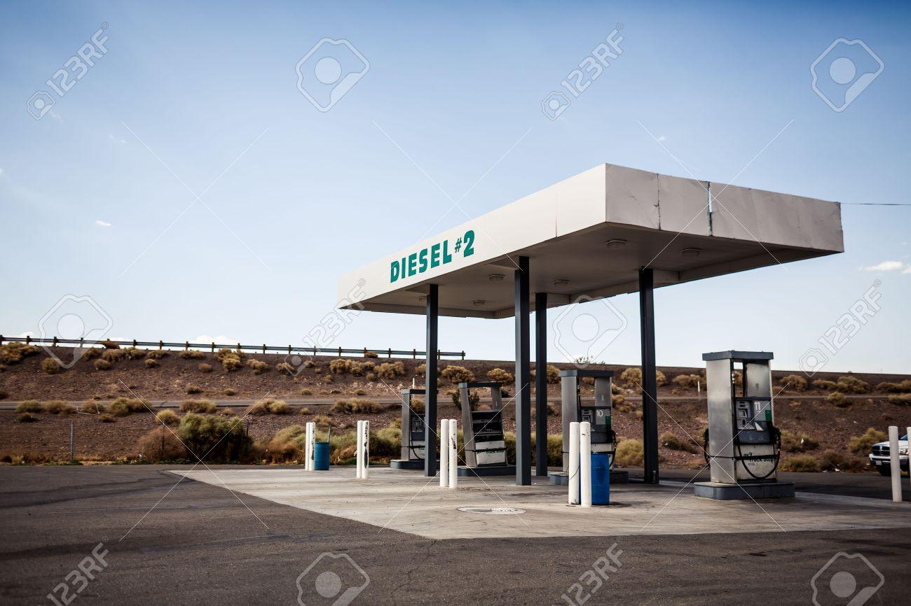 Rusty Abandoned Vintage Usa Gas Station Arizona Banco De Imagens Royalty Free Ilustracoes Imagens E Banco De Imagens Image 25724601