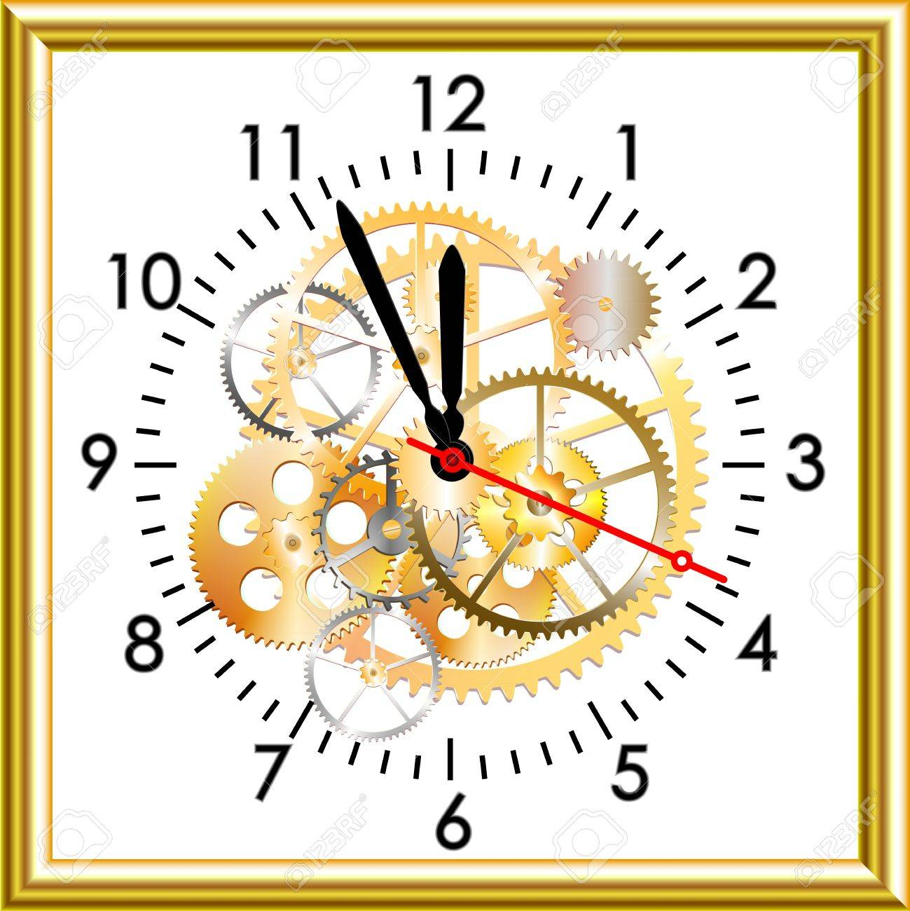 time clock clipart