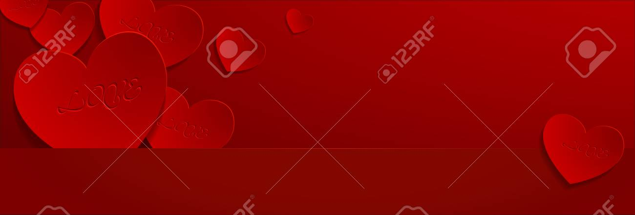 valentine background Stock Vector - 25244818