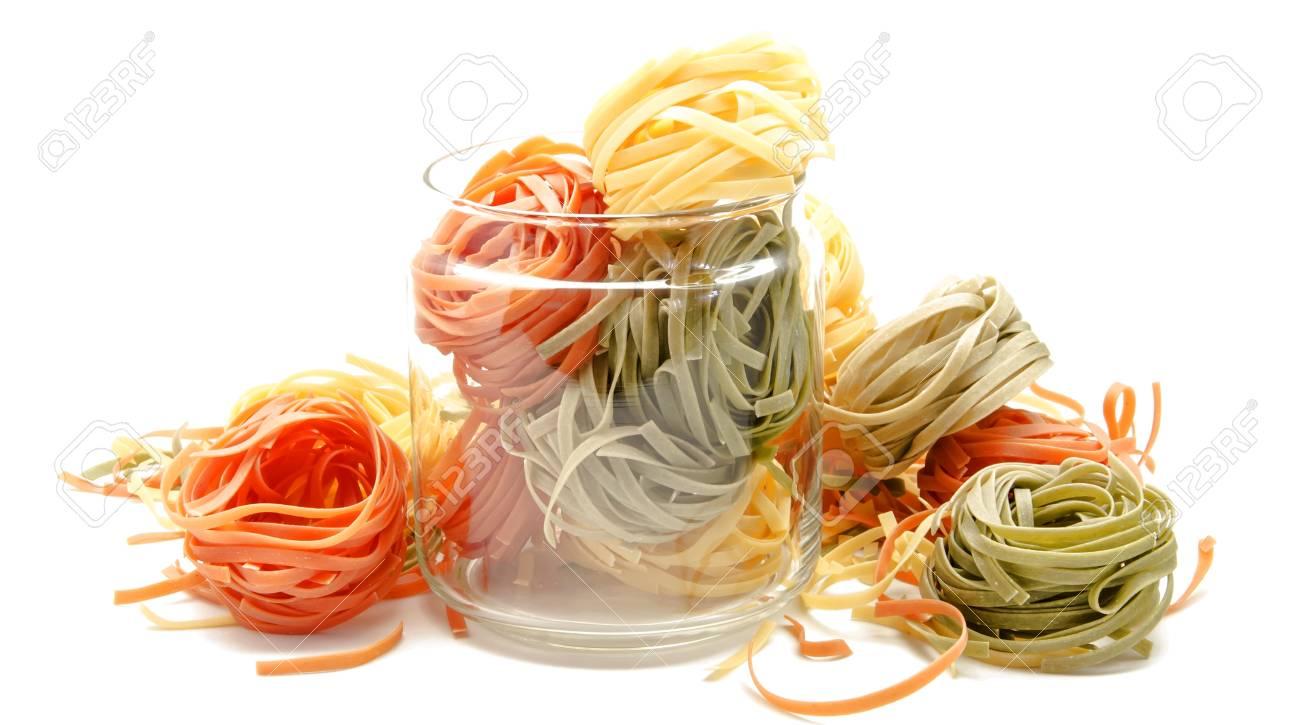 Nest egg Italian pasta Stock Photo - 21814813
