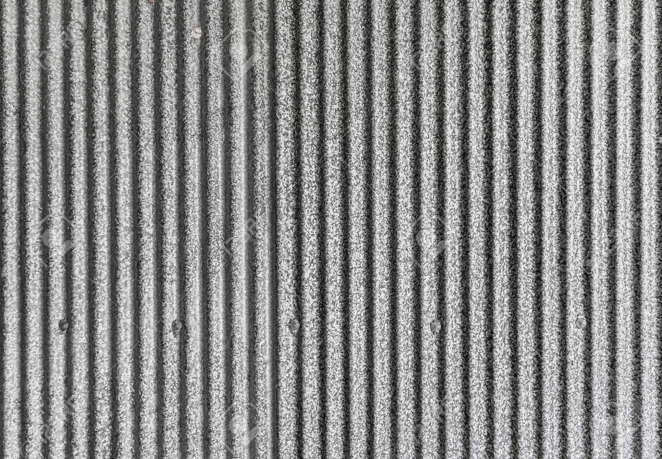 Corrugated Iron Sheet Texture, Galvanized Iron For The Roof Stock Photo    59819733