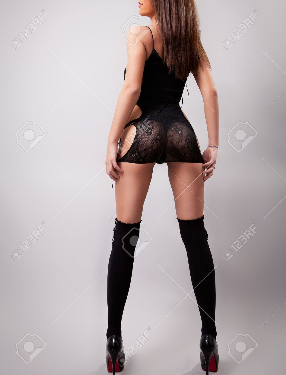 Woman with sexy ass and long legs Stock Photo - 13074019