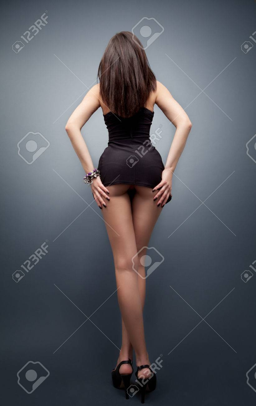 Woman With Thin Waist And Long Sexy Legs Stock Photo Picture And
