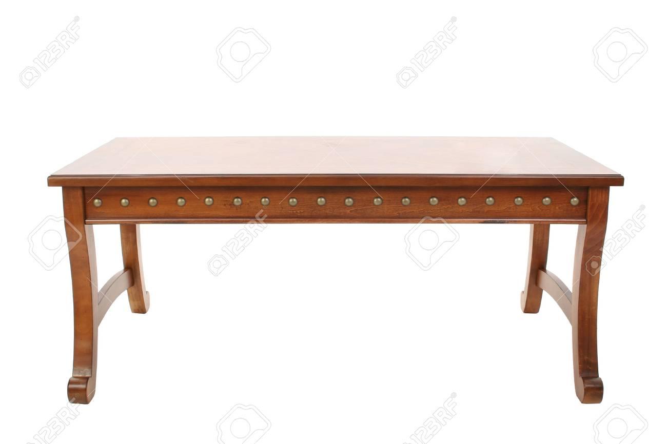 Tavolini In Legno Bianco : Immagini stock tavolino di legno su bianco image