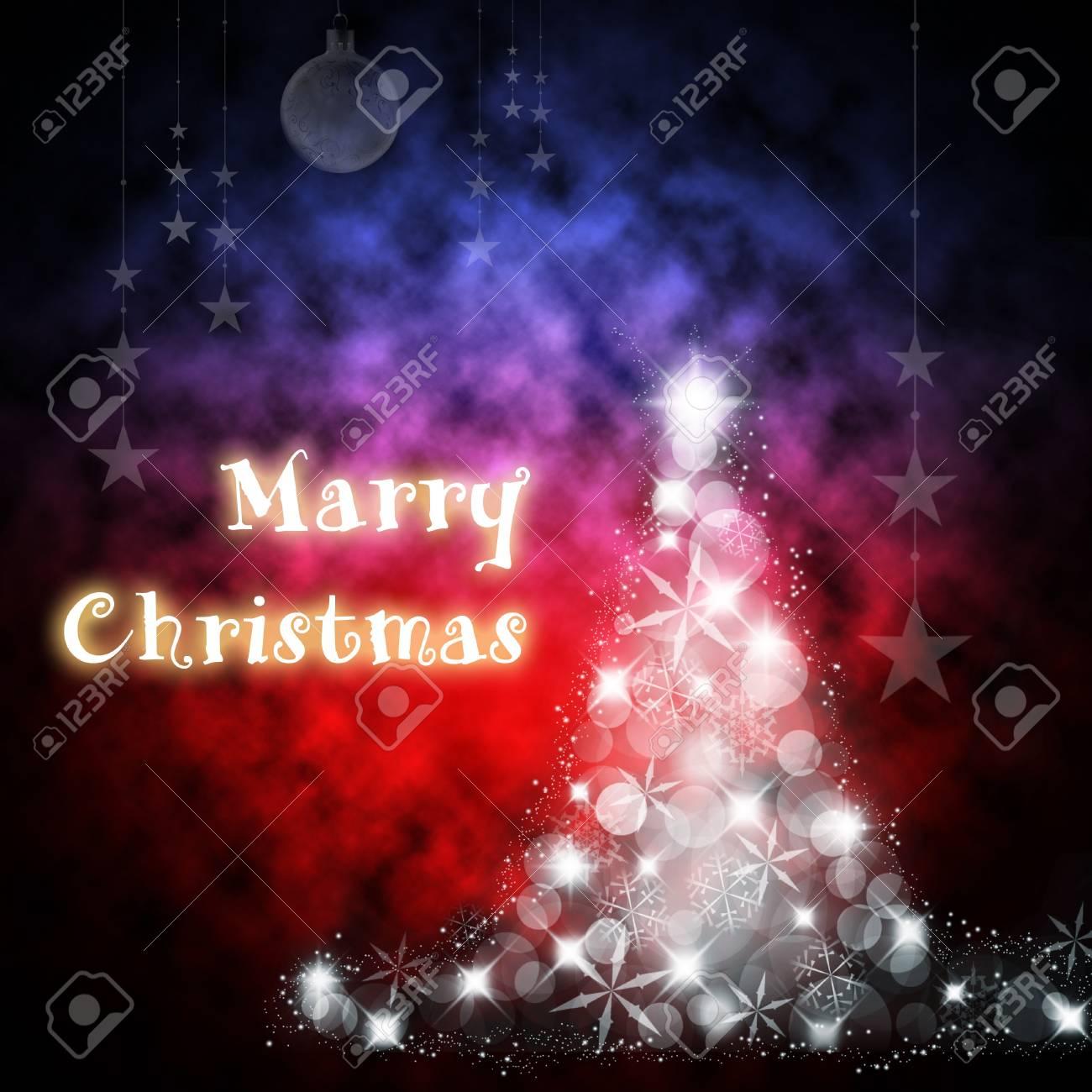 Mary Christmas holiday greeting cards. Stock Photo - 19741926