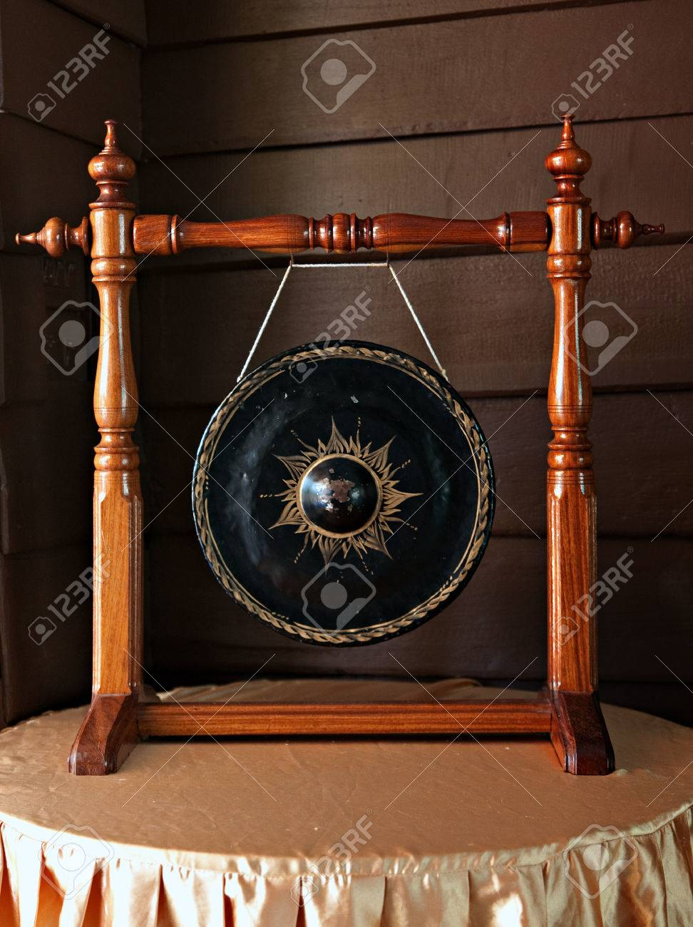 Gong instrument Thailand Stock Photo - 22581153