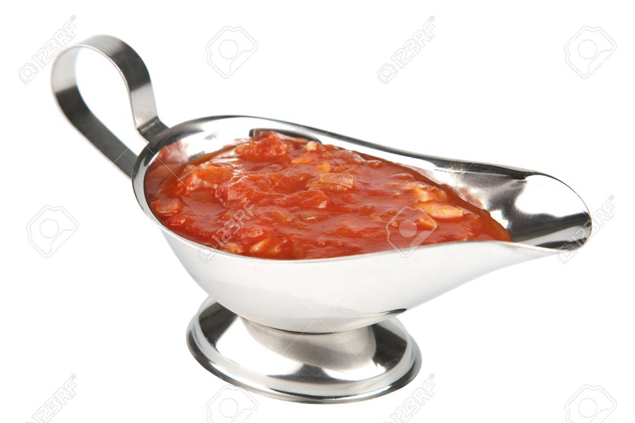 tomato sauce isolated Stock Photo - 6670639