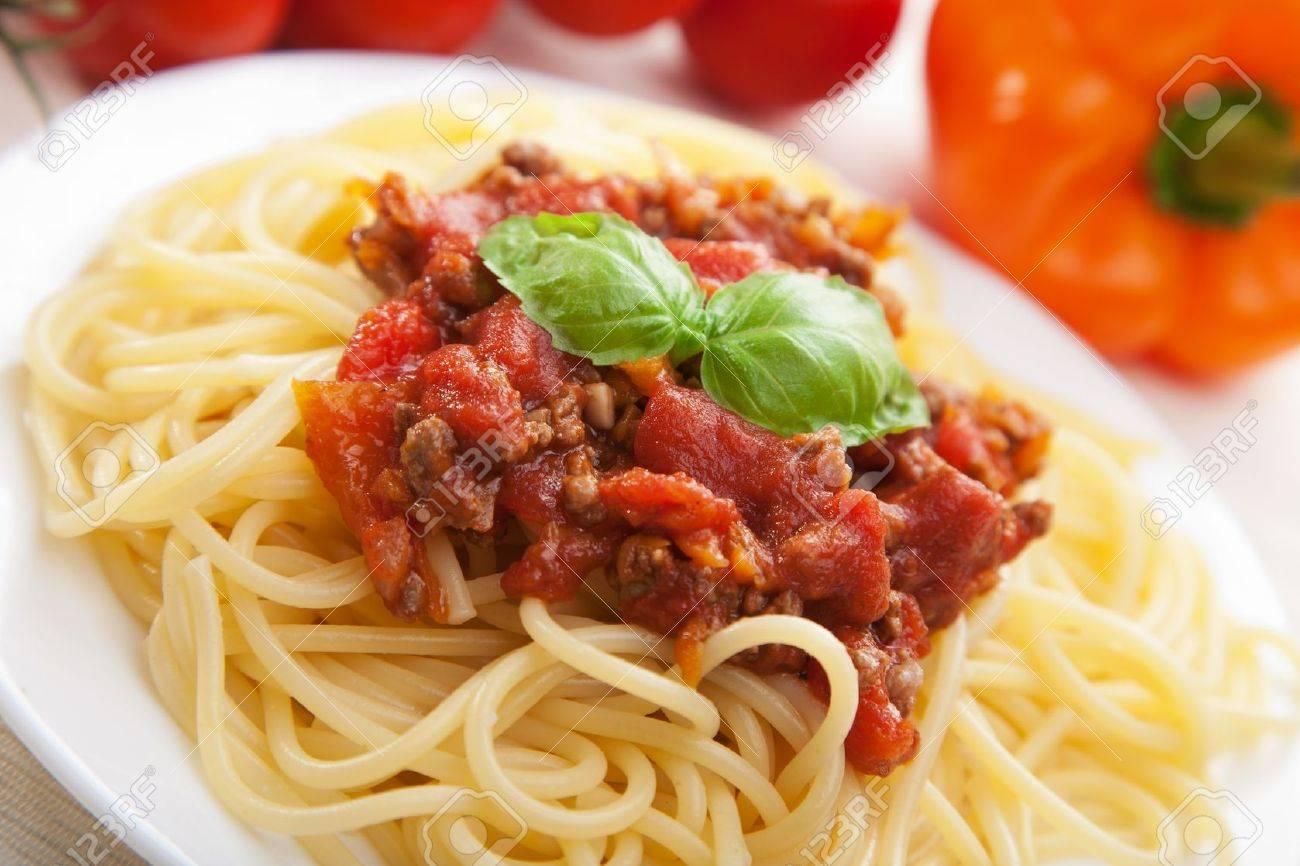 spaghetti bolognese Stock Photo - 8731644