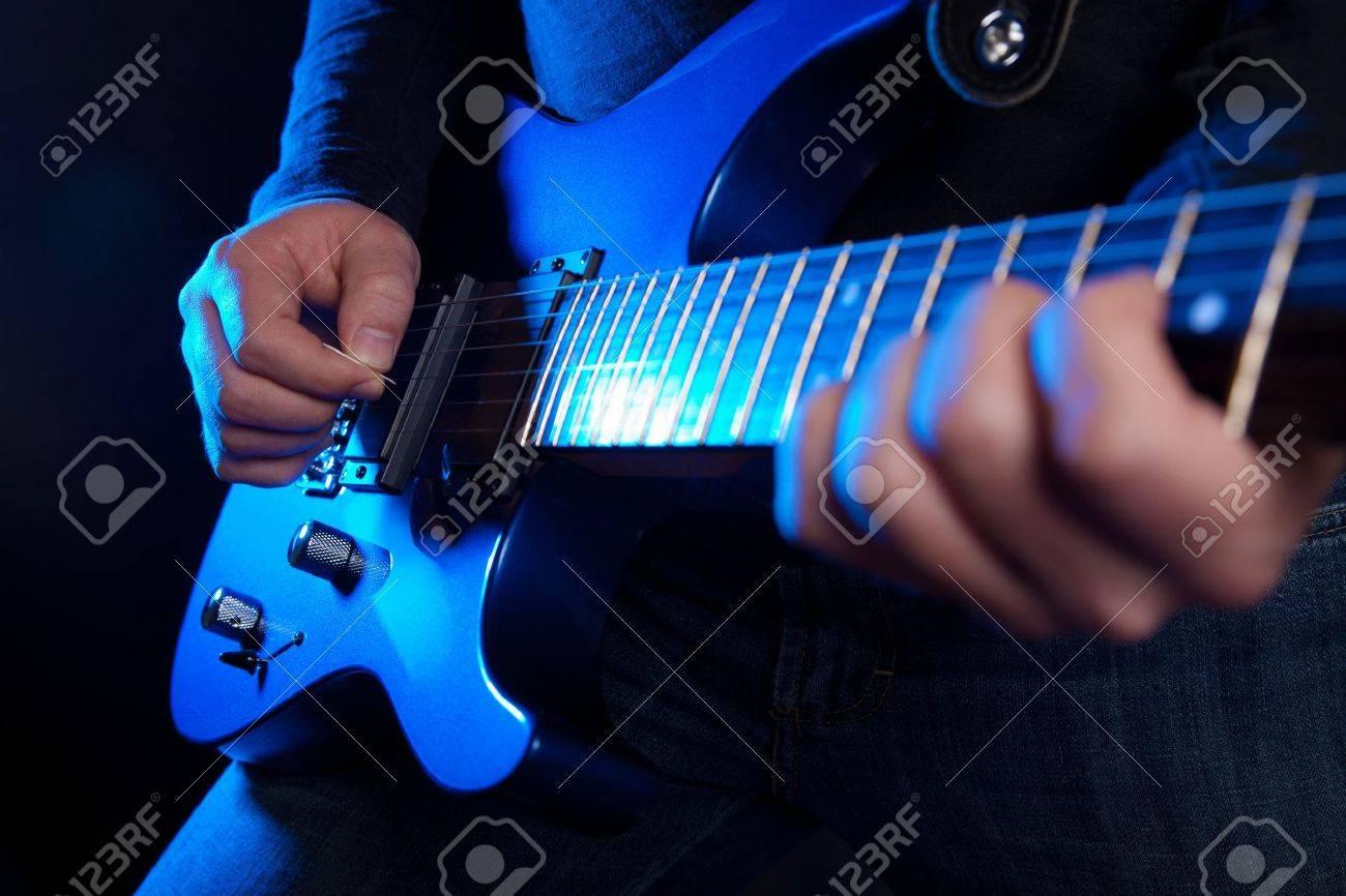 rock guitarist Stock Photo - 9308000