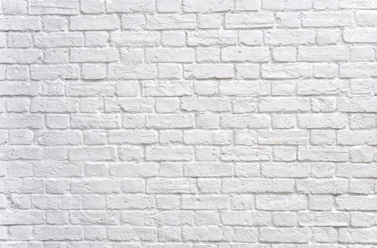 White brick wall Stock Photo - 7595839