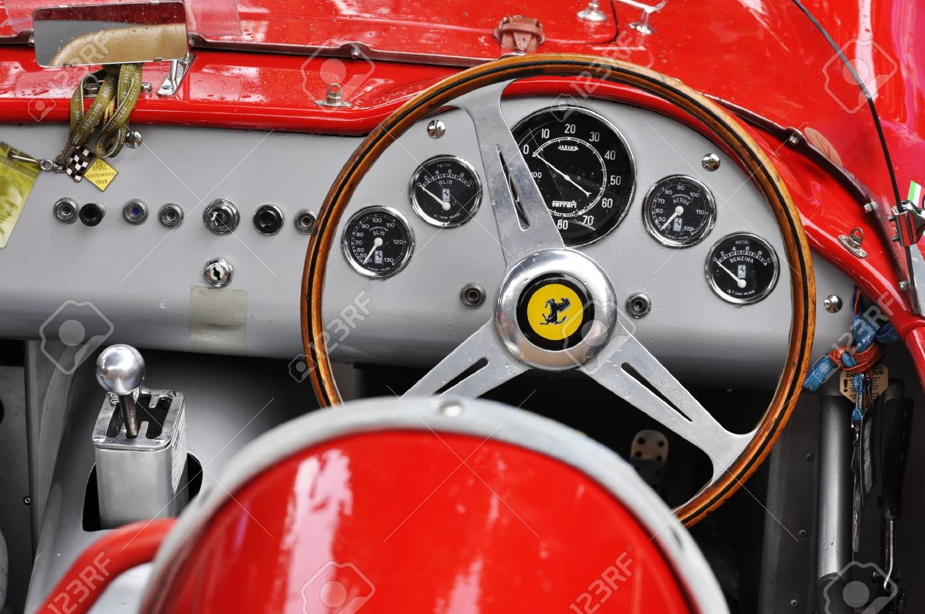 Vintage Ferrari Dashboard Stock Photo Picture And Royalty Free Image Image 17523749