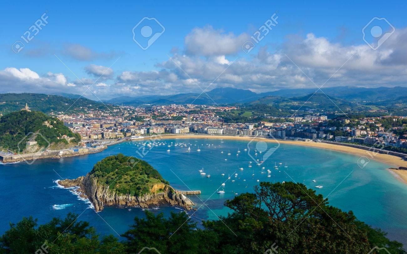 バスクの国、スペインのサン ・ ...