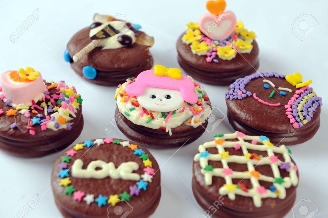 Schokoladenkuchen Fur Kinder Lizenzfreie Fotos Bilder Und Stock