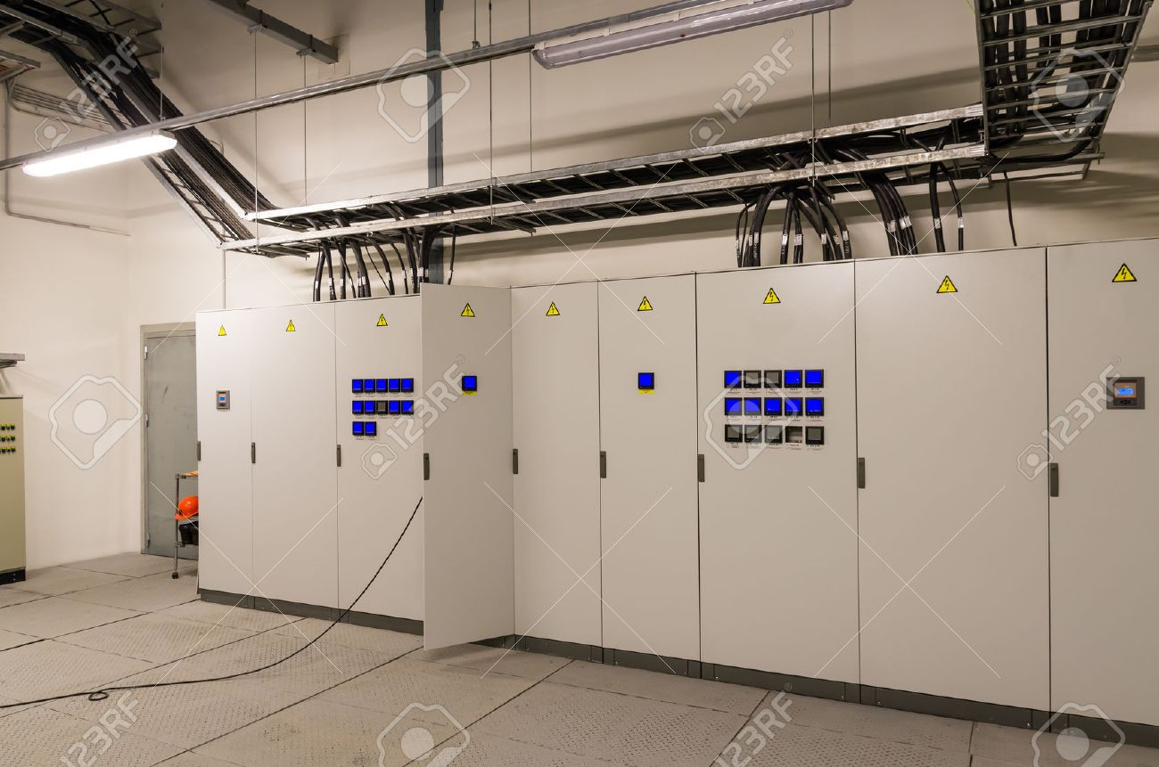 Switchgeer Main Distribution Board In Electrical Room Stock Photo ...