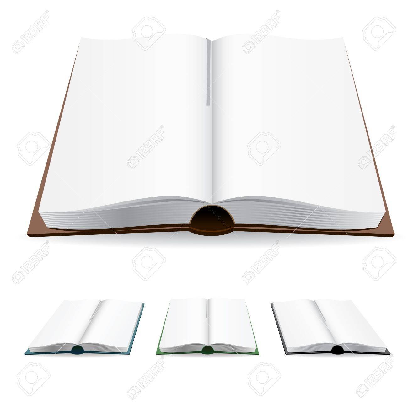 Page Livre Livre Ouvert Avec Les Pages