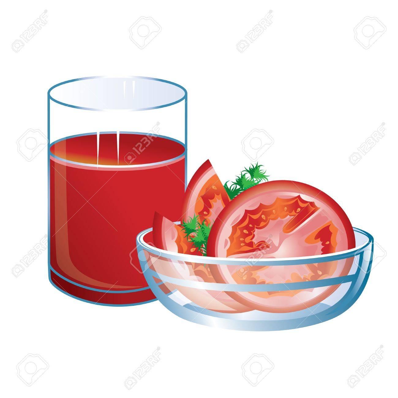 Green Juice Cartoon Green Juice Tomato Juice