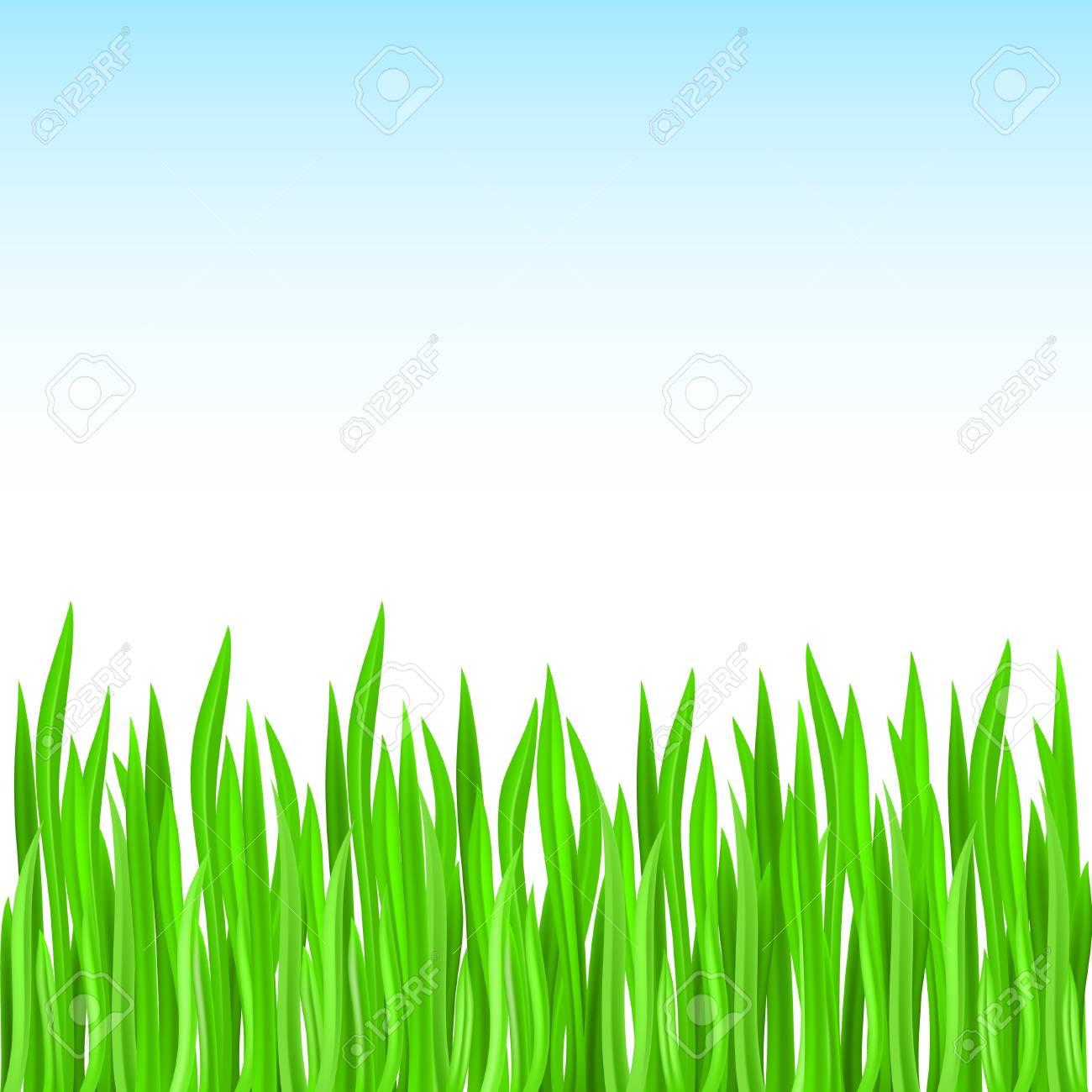 green grass. Green design Stock Vector - 9262037