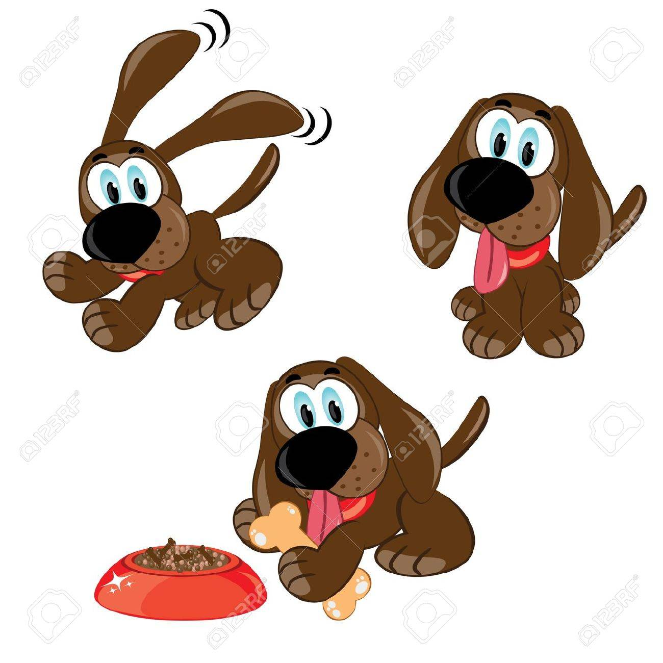 dogs set Stock Photo - 9262065