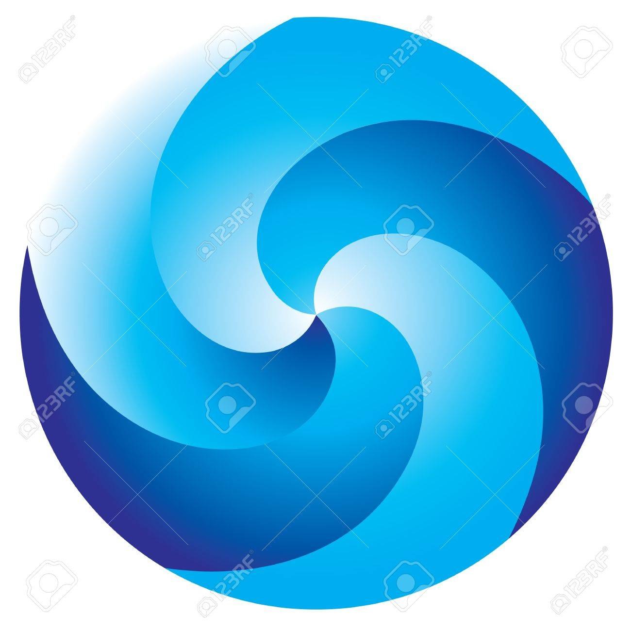Abstract vortex on white background Stock Vector - 9413763