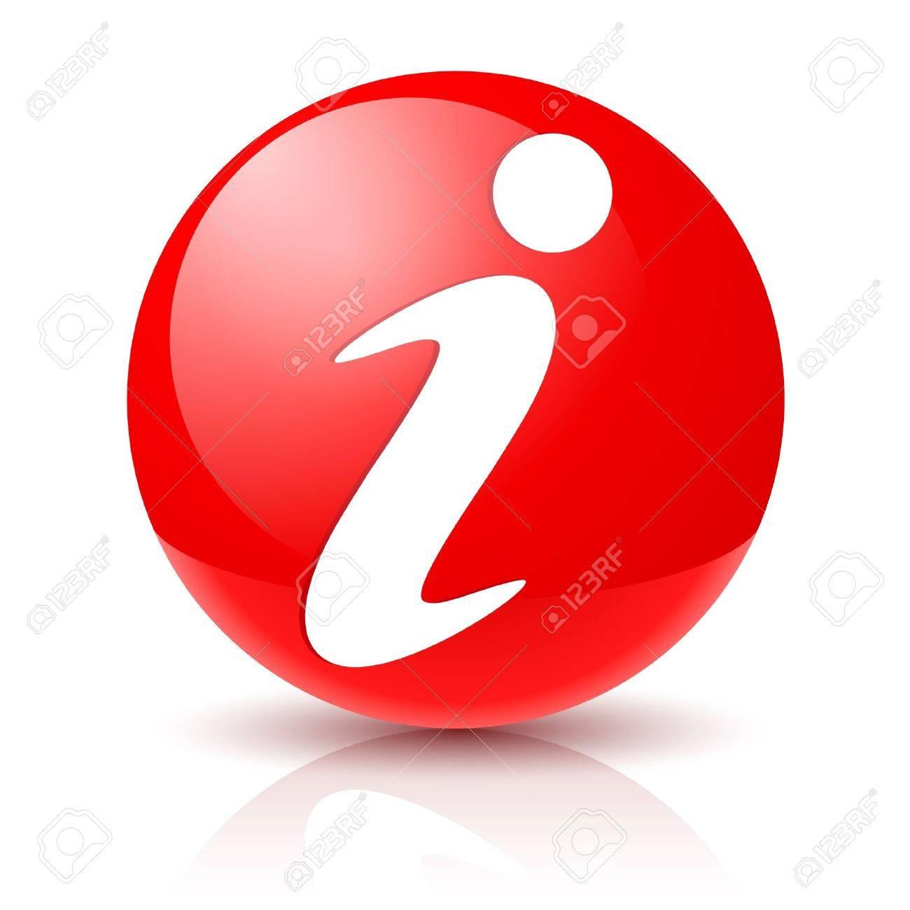 Information Sign Icon.  Illustration on white background for design Stock Vector - 12087873