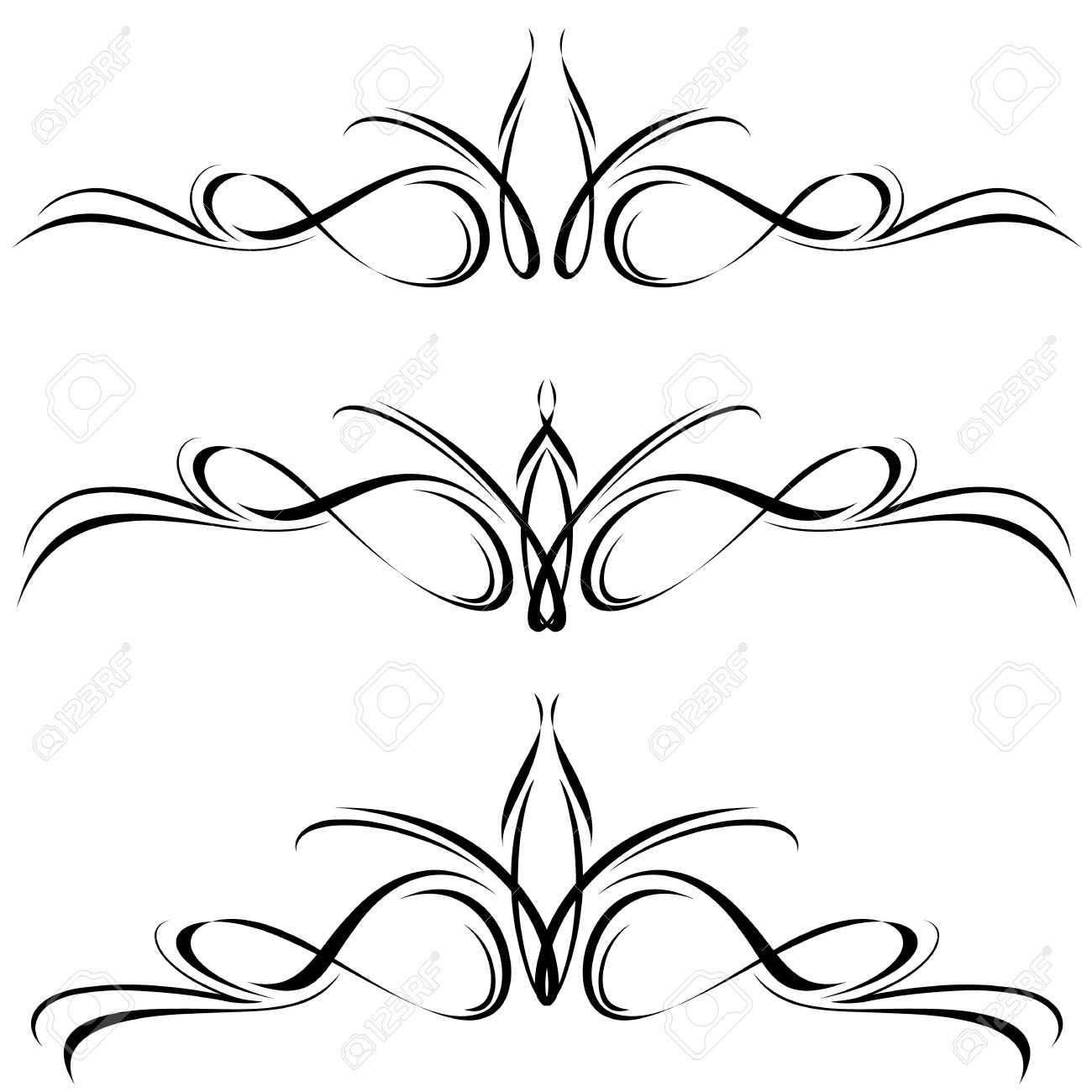 Abstract Black Flora Design Element Nice Design Elements For Royalty Free Cliparts Vectors And Stock Illustration Image 12087880