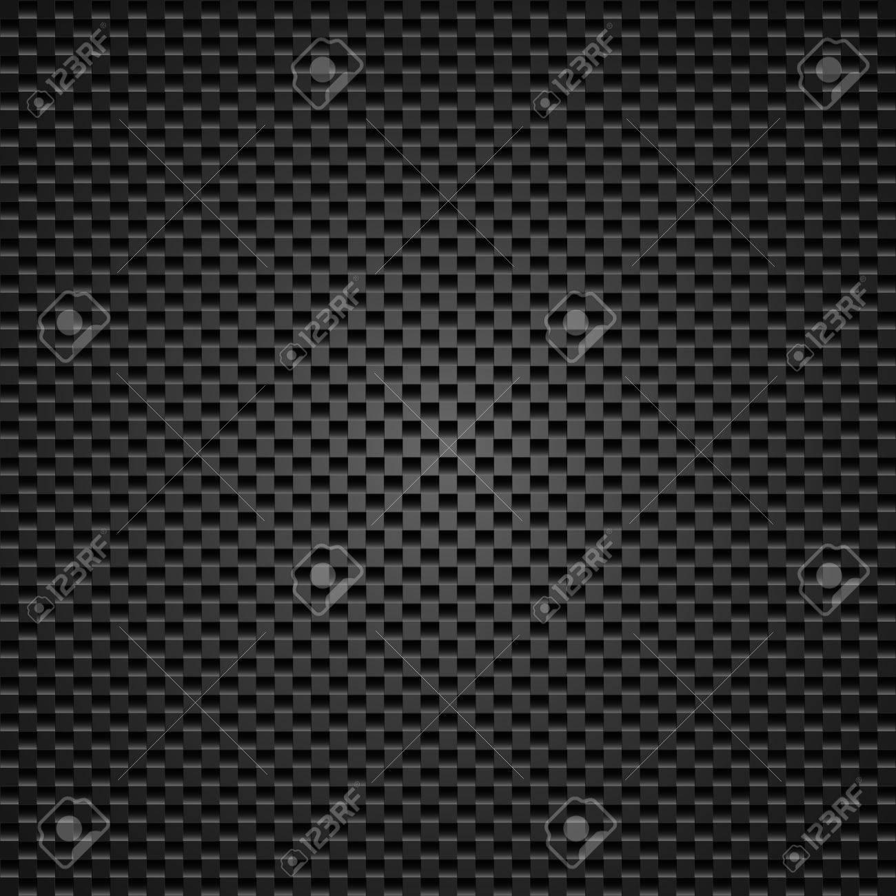 Carbon background of squares illustration designer Stock Vector - 13858338