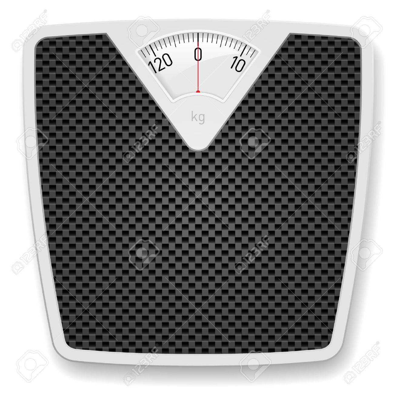 Bathroom Scale Bathroom Weight Scale Illustration On White Background