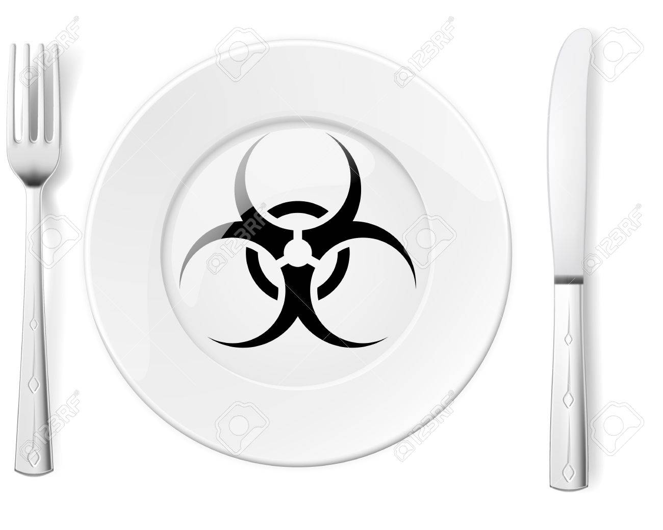 Toxic Symbol Black And White black biohazard Dangerous
