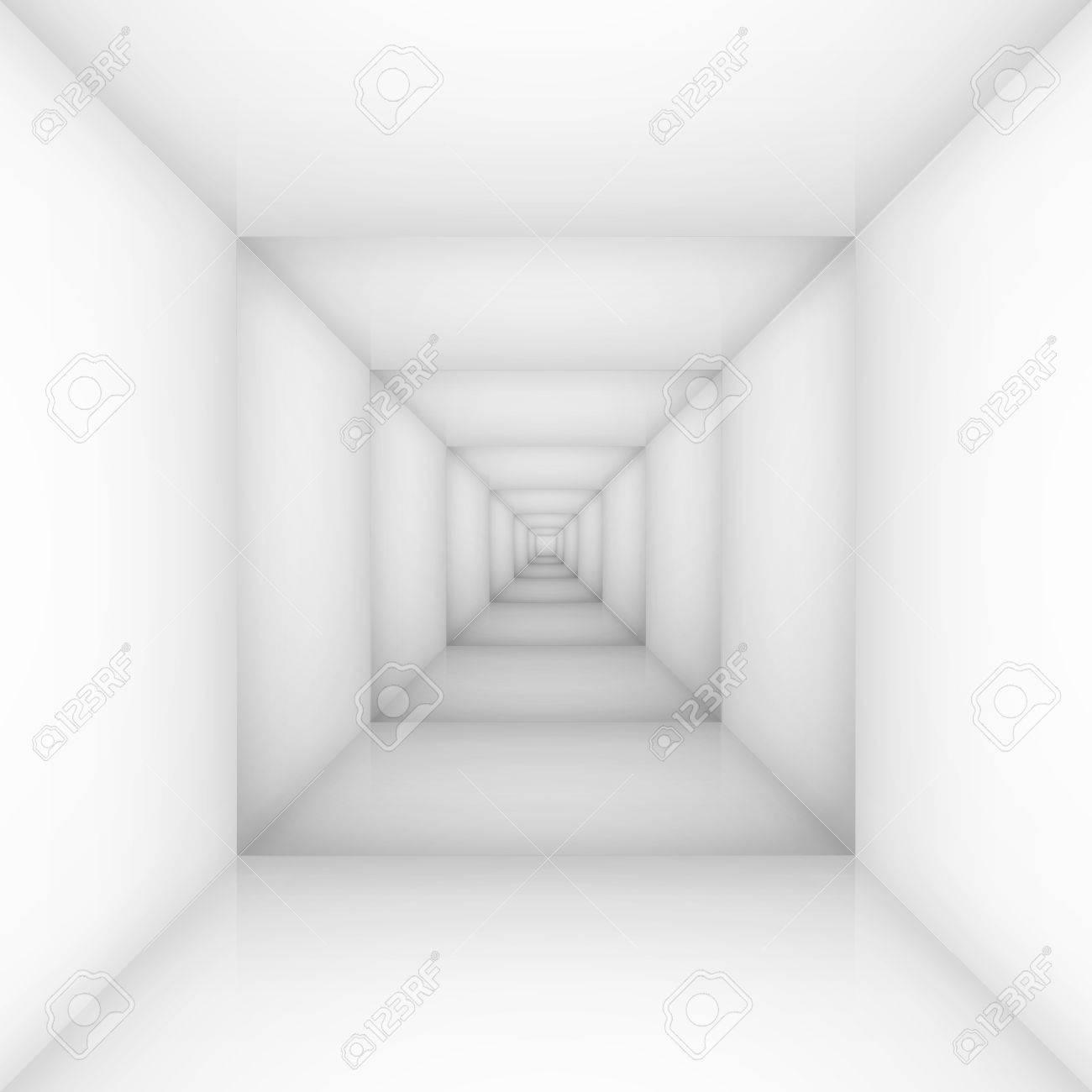 White empty room, box. Illustration for design Stock Vector - 16976777
