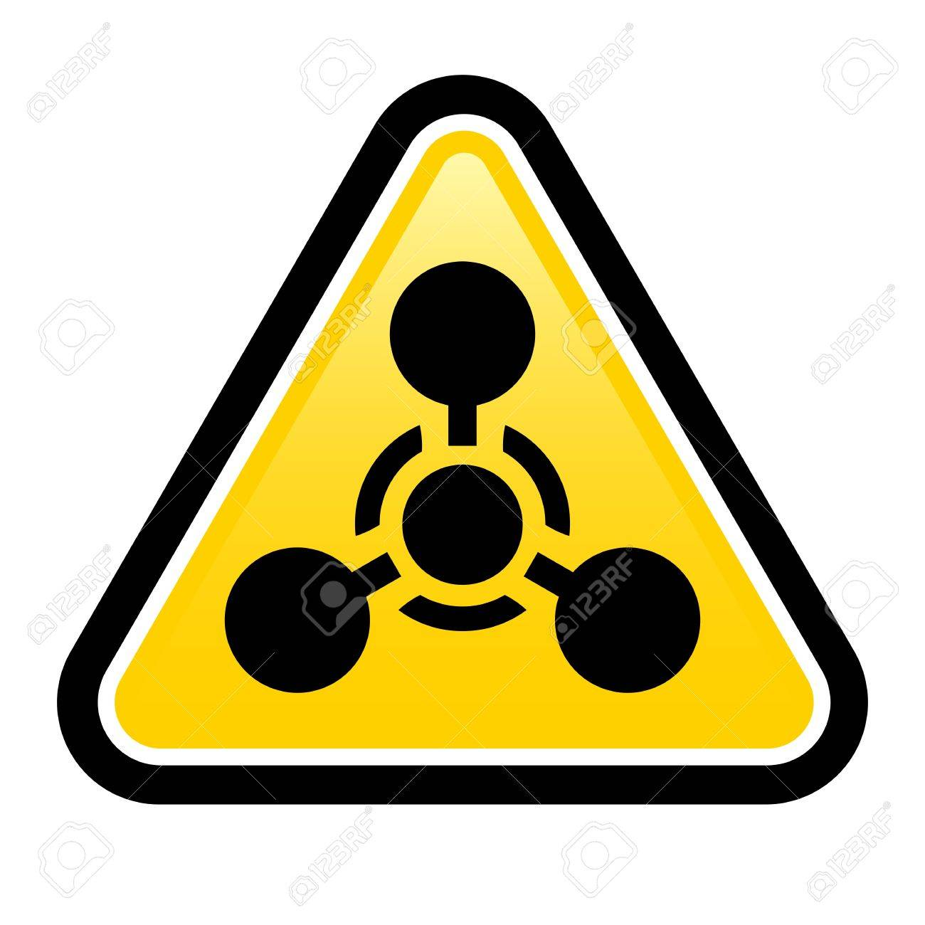 Chemical Weapon sign. Illustration on white background for design Stock Vector - 17473290