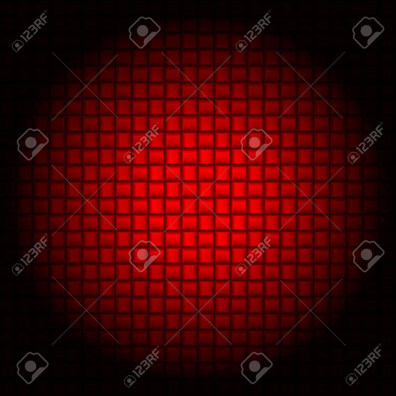 Abstract Red Cell textures. Illustration for design Stock Vector - 17620995