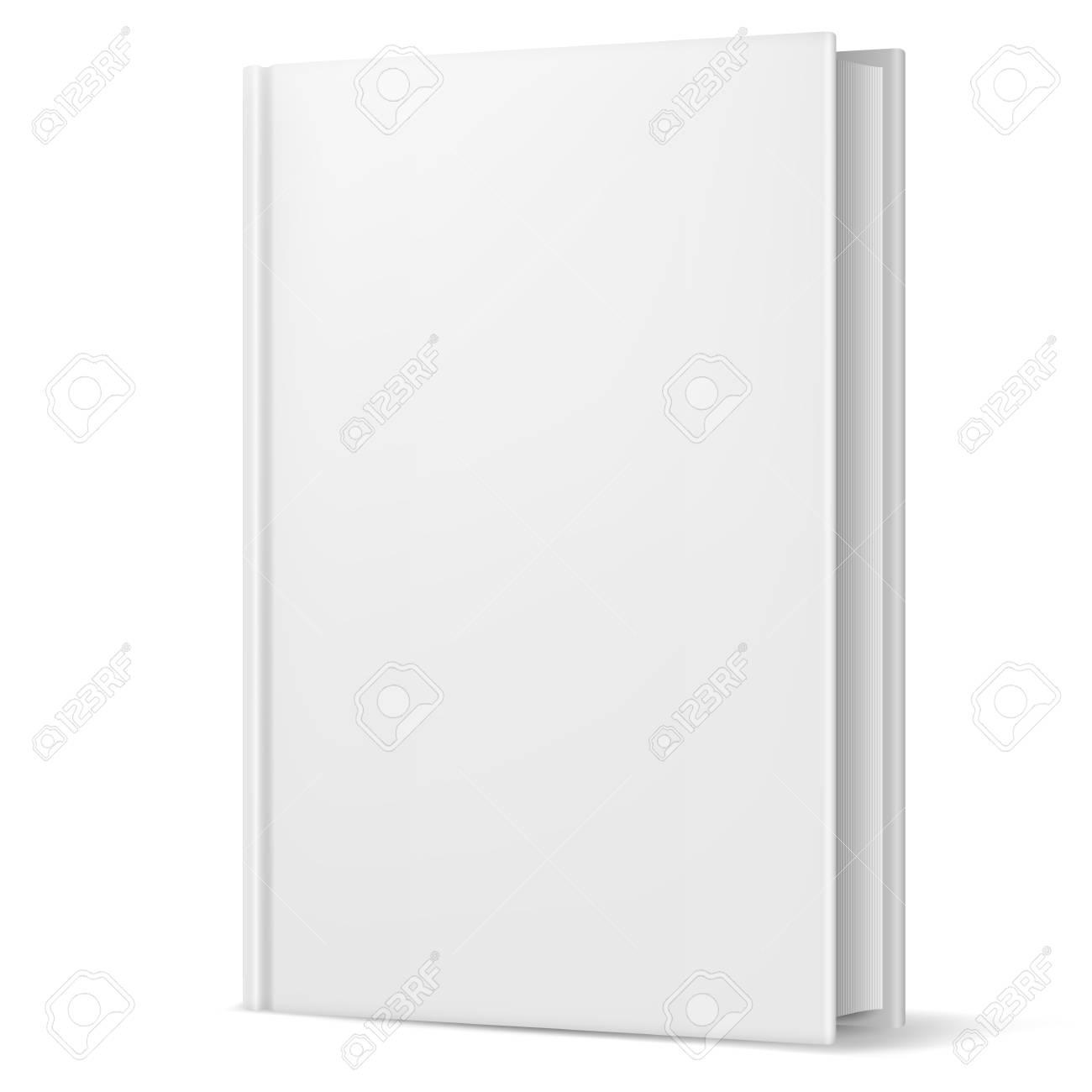 White book. Illustration on white background for design Stock Vector - 20941112