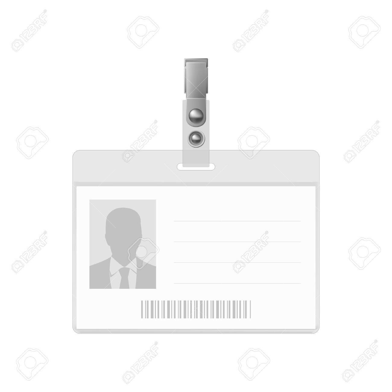 Grafik Design Mitarbeiterausweis Ausweis Vorlage Design