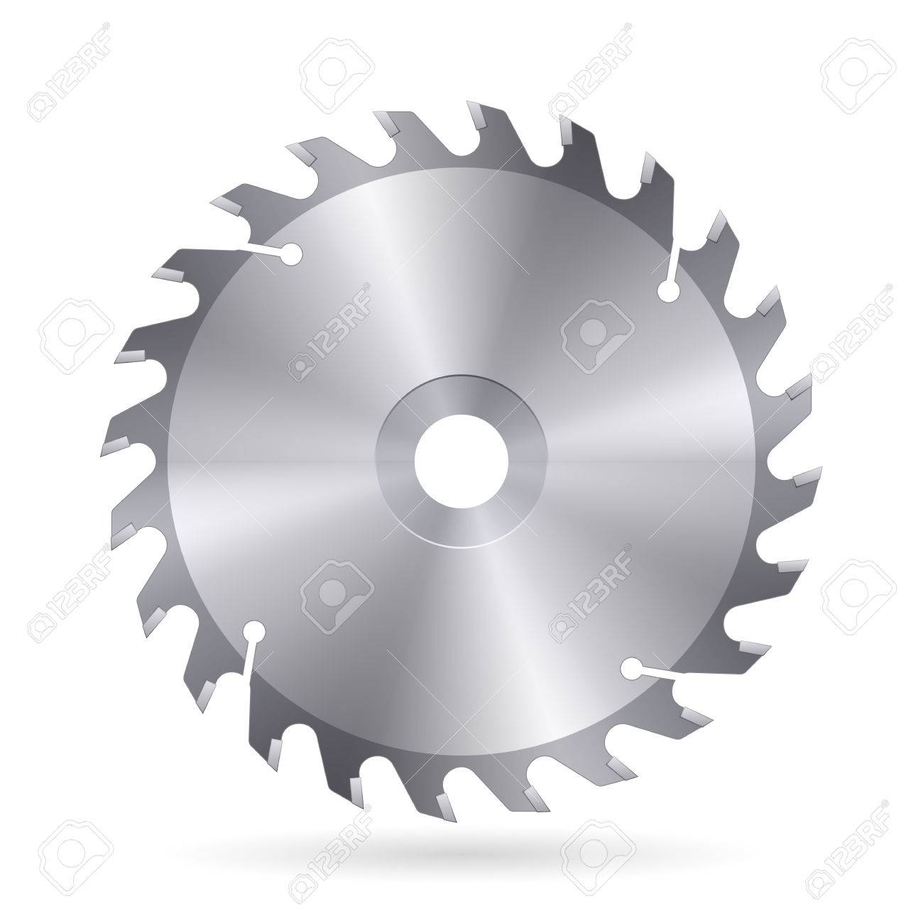 Metal blade of circular saw on white background royalty free metal blade of circular saw on white background stock vector 27438962 keyboard keysfo Image collections