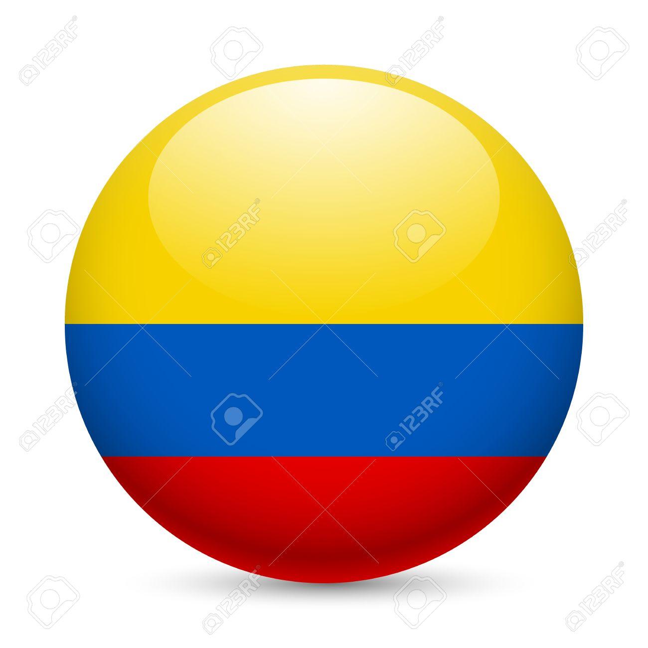 Resultado de imagen para boton bandera colombia