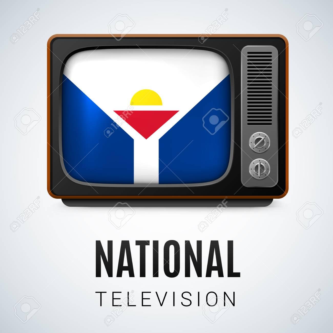 ビンテージ テレビ、シンボル国...