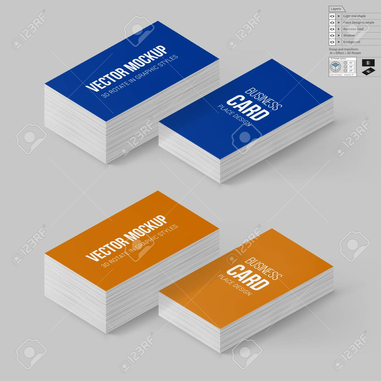 Business cards template in blue and orange colors corporate business cards template in blue and orange colors corporate identity branding mock up with wajeb Gallery