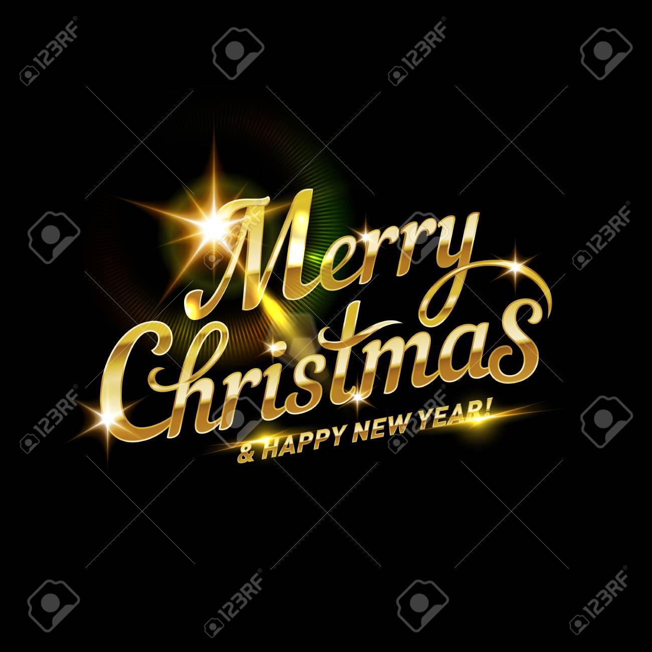 Schriftzug Frohe Weihnachten Beleuchtet.Stock Photo